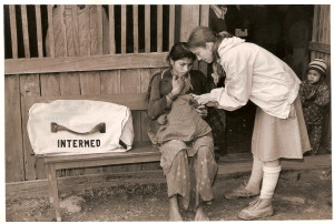 Nurse and patients-Nepal